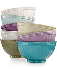 Lenox French Perle Everything Bowl - Serveware - Dining & Entertaining - Macy's