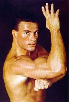 Jaun Claude Van Damme. I remember my daddy watching his movies all the time.