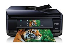 Epson Expression Premium XP-800 Small-in-One® Printer  *Ptrint; Copy; Scan; Fax  *5-color (CMYK, Photo Black) *5 ink droplet sizes, as small as 1.5 picoliters  *ISO Print Speed:Black: 12 ISO ppm;Color: 11 ISO ppm  *2-Sided ISO Print Black: 5.2 ISO ppm;Color: 4.9 ISO ppm  *Scan Optical Resolution: 4800 dpi *Automatic Document Feeder