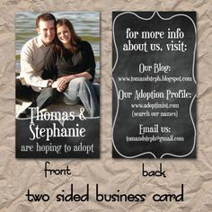 Adoption business cards made to hand out to everyone and anyone adoption business cards made to hand out to everyone and anyone with all our adoption sites listed adoption pinterest adoption colourmoves