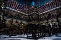Biblioteca, Rio De Janeiro, Brazil