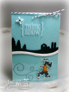 Think Snow by jmasse - Cards and Paper Crafts at Splitcoaststampers