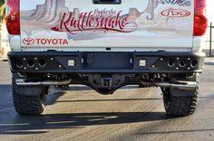 2014 - Up Toyota Tundra Venom Rear Bumper