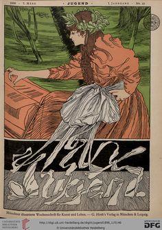 Jugend: Münchner illustrierte Wochenschrift für Kunst und Leben (1.1896, Band 1 (Nr. 1-26))