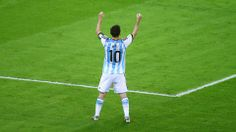 today's game was slow but exciting and in over time then messi scored the winning goal everything was so perfect!