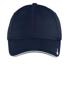 Nike Golf - Dri-FIT Mesh Swoosh Flex Sandwich Cap | Performance/Athletic | Caps | SanMar