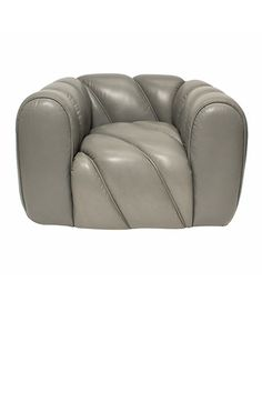 Kelly Wearstler Croissant Chair. Looks so thick & cushy, yet still very chic!