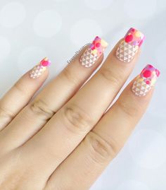 Fashion Polish Spring Nail Art Guest Post for Harlow & Co feat. Moyou plates and piCture pOlish products