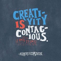 Creativity is contagious!