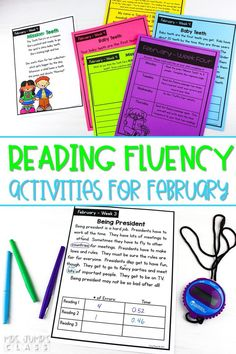 Focus on reading fluency in your first or second grade classroom. Differentiated reading fluency passages and fun activities that can be used in class or given for homework.