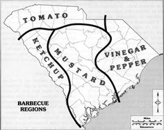 Barbecue Regions