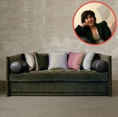 Lisa Sternfeld – LSID, INC. selected: Saladino Furniture, Inc., Suite 1600 Studded Shelter Sofa