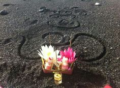 Beautiful offering on the beach