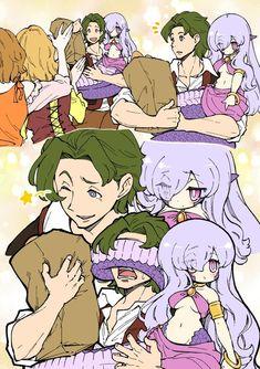 Guy with tiny snake girl Thicc Anime, Anime Demon, Anime Comics, Anime Art, Anime Monsters, Cute Monsters, Monster Characters, Anime Characters, Fictional Characters