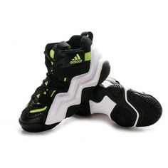 Adidas Top Ten 2000 Mens Basketball Shoes - Black/White/Green $67.90   http://www.cheapkobeshoesmall.com