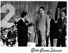 Alfonso Alvarez Gallardo en un Programa de television de la epoca en Radio Caracas Television a principios de los años 60s.