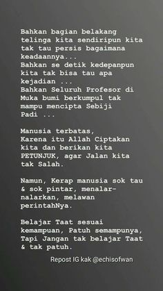 Bae Quotes, Self Quotes, People Quotes, Daily Quotes, Reminder Quotes, Self Reminder, Muslim Quotes, Islamic Quotes, Cinta Quotes