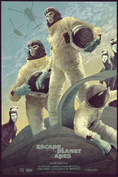 Escape from the Planet of the Apes - Rich Kelly