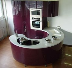 Round kitchenette
