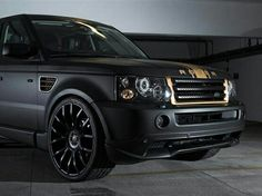 Matte Black Range Rover~