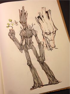 Groot by Jake Parker