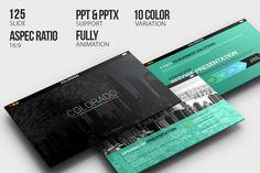 Colorado Powerpoint Template by Dedijuniadi on Creative Market
