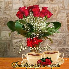 Retro Hits, You Make Me Happy, Good Morning Good Night, Love Quotes For Him, Beautiful Roses, Coffee Time, About Me Blog, Table Decorations, Album