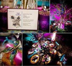 Masquerade Party Ideas | Peacock Masquerade Party Ideas | birthday ideas for heidi