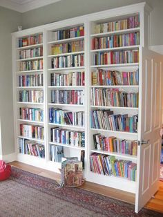 library wall - so going in my villa