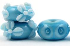 Lampwork Glass Beads by Beadscrumptious. Lampwork Beads. Turquoise Dreams.   www.beadscrumptious.co.uk  #lampworkbeads