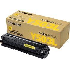 Samsung CLT-Y503L Original Toner Cartridge - #CLT-Y503L/XAA