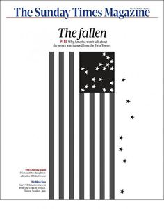 The Sunday Times Magazine - Rejected 9/11 cover