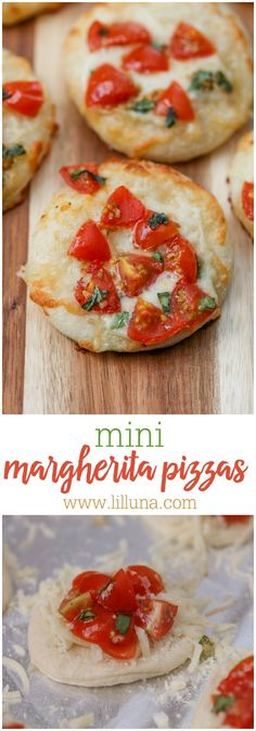 Mini Margherita Pizz