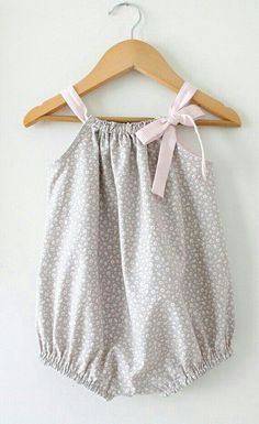 Baby Girl RomperTiny Floral and Pink Stripe by ChasingMini on Etsy burns Baby Rompers!Baby Girl Romper-Tiny Floral and Pink Stripe Sunsuit-Pink and Grey Summer One Piece-Beach Wear-Handmade Children Clothing by Chasing Mini.Playful baby rompers that Fashion Kids, Baby Girl Fashion, Cute Fashion, Fashion Styles, Womens Fashion, Baby Girl Romper, My Baby Girl, Baby Dress, Baby Girls