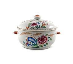 Sopeira em porcelana Chinesa de Companhia das Indias do sec.18th, Familia Rosa, de https://www.facebook.com/SoulCariocaAntiques
