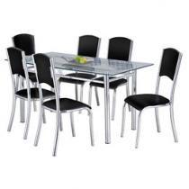 Conjunto Mesa com 6 Cadeiras Plus/Elegance - Design Final