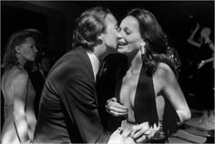 DVF with with Roy Halston Frowick in 1970