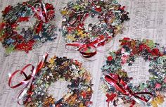 Great ideas to recycle jigsaw puzzles