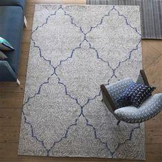 Basilica Chalk Rug - Designers Guild