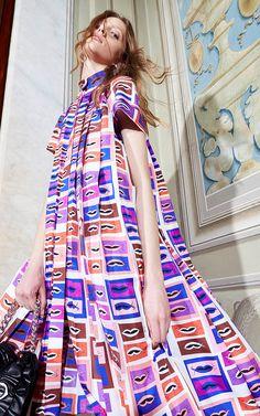 Emilio Pucci Pre-Fall 2016 - Preorder now on Moda Operandi