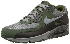 519cfd61729d Nike Air Max 90 Essential Color GreenGrey Size 130 -- You can find more  details by visiting the image link. Nike Shoes