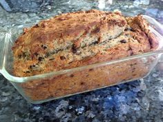 Gluten free Banana Bread with Chia and Flax seeds