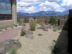 Residential Xeriscape w/ Boulders