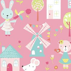 Christine Gore for Just Kids Ltd featured on Print and Pattern Blog for Surtex 2012.
