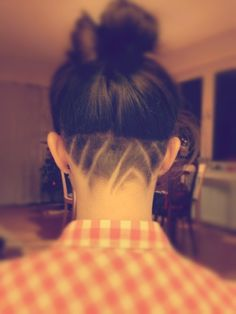 I am doing this AS SOON as my hair grows out long enough for me to put it up!!