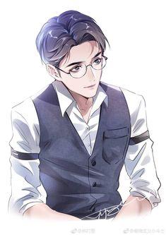 Henry James Potter f Manga Anime, Manga Boy, Anime Art, Hot Anime Boy, Cute Anime Guys, Meninas Comic Art, Character Art, Character Design, Handsome Anime Guys
