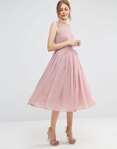 ASOS | ASOS Soft Midi Prom Dress