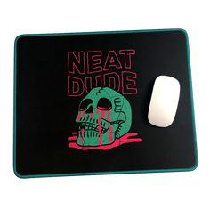 Skull Puddle Mousepad – Neat Dude