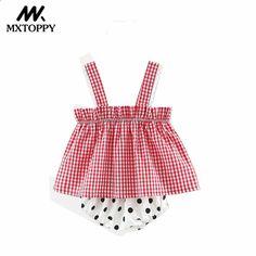 Baby Flickor Kläder 2018 Sommar Lattice Prinsessan Spädbarn Klänning 1-3 år  Födelsedag Baby Girl Dress Plus Dot Underkläder e47c881564428