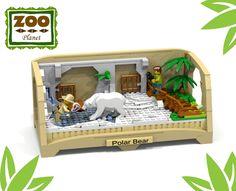 ~ Lego MOCs City ~ the Zoo Collection 2 - polar bear